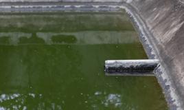 waste pond